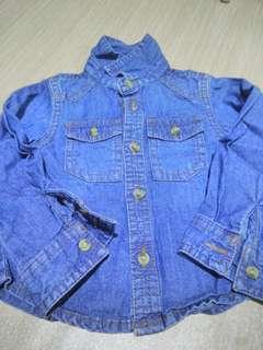 Baby Denim Shirt (3-6M)