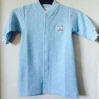 Blue Baby Nightdress