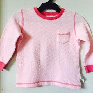 Kids Pink Night Shirt