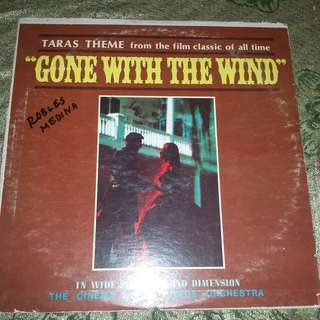 """Tara's Theme from """"Gone With The Wind"""" And Other Academy Award Hits Vinyl Record"""