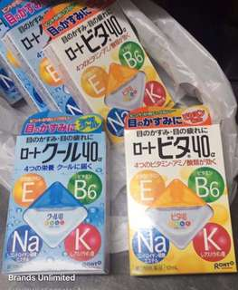 Japan's No.1 Leading eye drops