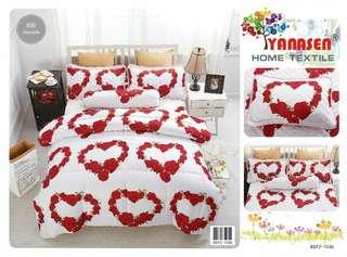 Bedsheet with Comforter (quilt)