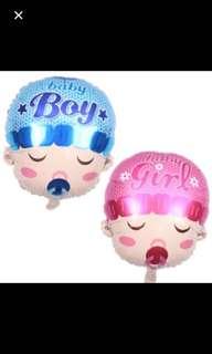 Sleeping boy / girl balloon