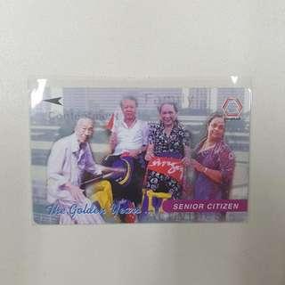MRT Card- The Golden Years