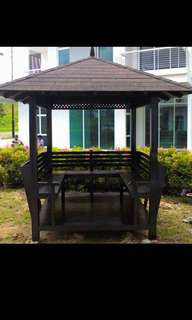 Gazebo high quality wood