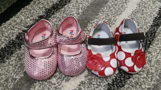 Baby Shoes 2 Pairs