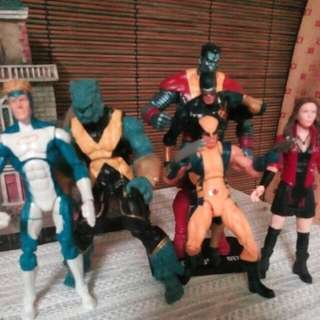 X-MEN Logan Team.