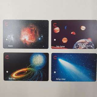 MRT Cards - Space