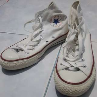 Authentic CONVERSE ALL STAR WHITE