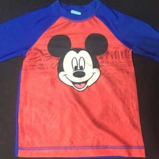 Mickey Mouse Disney Rash Guard