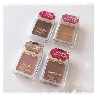 Canmake 眼影 eyeshadow velvety fit color 日本直送 最新