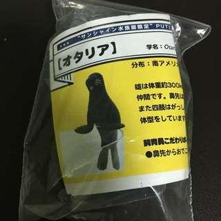 🚚 太陽城水族館 日本限定 扭蛋 杯緣子 杯緣 海獅