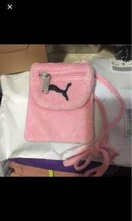 粉紅色 斜咩袋
