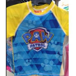 Paw Patrol Nickelodeon Rash Guard