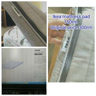 Ikea mattress topper king size. Leaving the country in two days