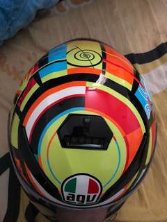 agv. K-3 SV ELEMENTS TOP 全罩安全帽 L 59-60