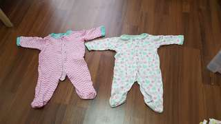 Bb Sleepsuit ( price for two )