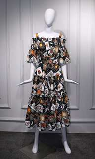 Runway Playing Cards Party Dress (sale)