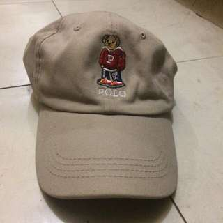 Ralph Lauren Khaki Brown Dad Hat