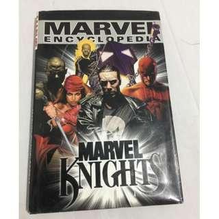 Marvel Encyclopedia Marvel Knights