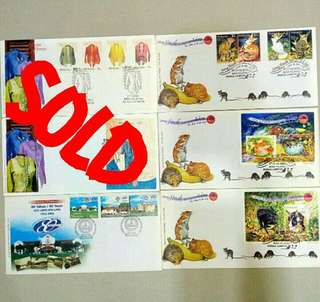 First Day Cover Year 2002