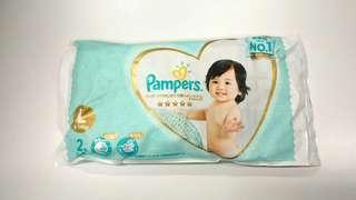 Pampers Ichiban 紙尿片 L碼 20片 + 56片 濕紙巾 一包