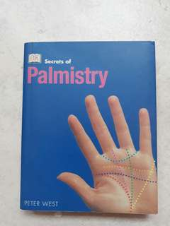 Palmistry. Palm/hand reading skill book