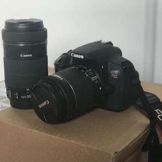 Canon T5i camera set