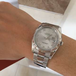 Rolex 116234 Rodium Dial (Very Good Condition)