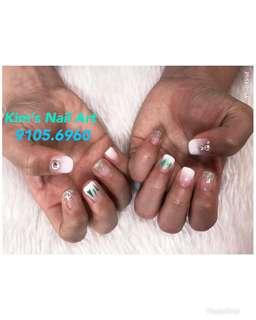 Home based manicure & pedicure