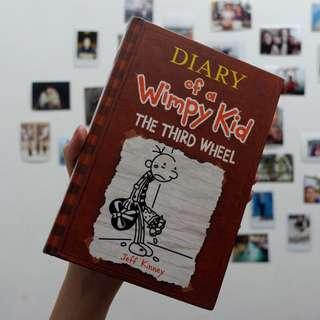 (Hardbound) Diary of a Wimpy Kid: The Third Wheel
