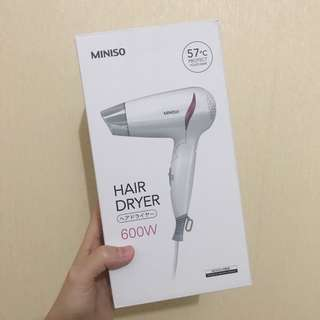 Hair Dryer Miniso Travelling