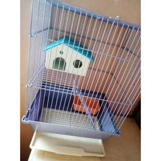 HAMSTER/MICE CARRIER CAGE with FREE SMALL CAGE