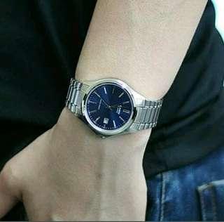 Original casio blue dial watch for men MTP1183A-2A