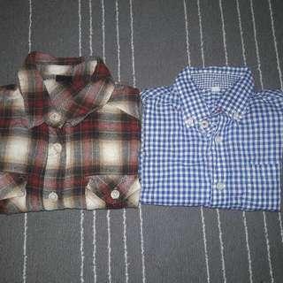 Kemeja Boy / Long Sleeve Shirt Kids