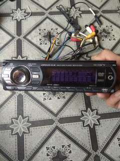 Sony Dvd car radio