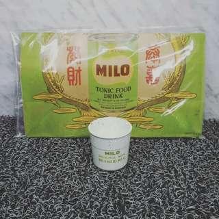 PAPER BAG MILO MILKMAID & CUP MILO ENGLAND