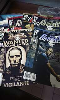 Punisher Comics Singles