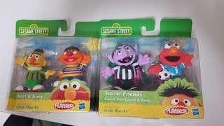 Sesame Street playskool Bert and Ernie,  Count  and Elmo