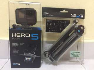 GoPro Hero 5 Black (Used & Good Condition)