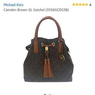 Authentic MK CAMDEN SATCHEL  BAG