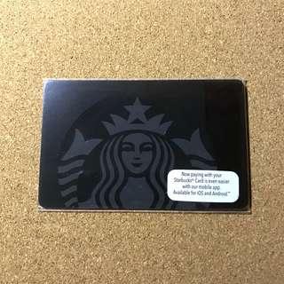 Malaysia Starbucks Black Siren Card