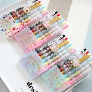 [PO] Sanrio juice pen set hello kitty my melody