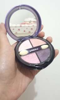 (PRELOVED) THE FACESHOP Face it Designing Eyeshadow No.1 Pink & Violet (dipakai 1x saja)