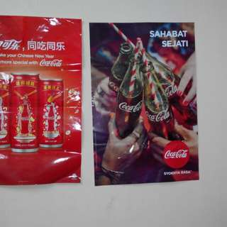 Coke-cola big poster(29.5 inch tall)