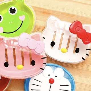 *BNIP* Hello Kitty Soap Dish/Tray (White and Red Bow)