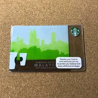 Malaysia Starbucks 15th Anniversary Card