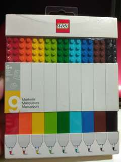 LEGO 9 Markers Set (Free Normal Postage)