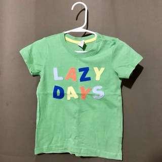 Green Boy's Shirt
