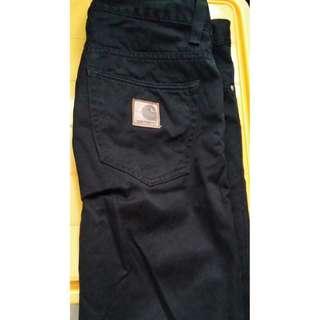Carhartt黑色長褲